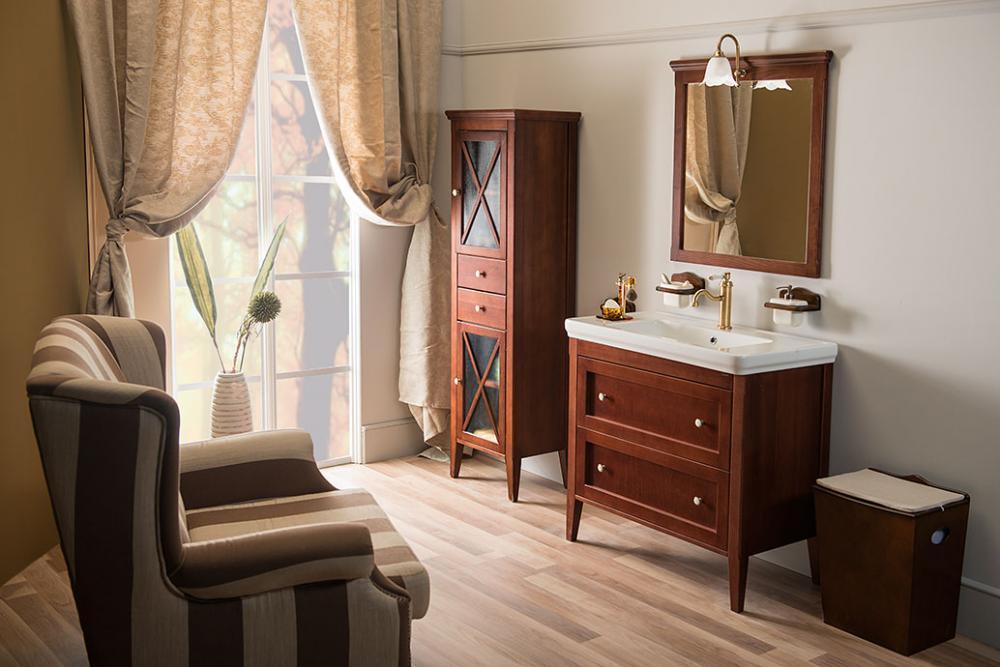 Bathroom Furniture Cross Mahogany