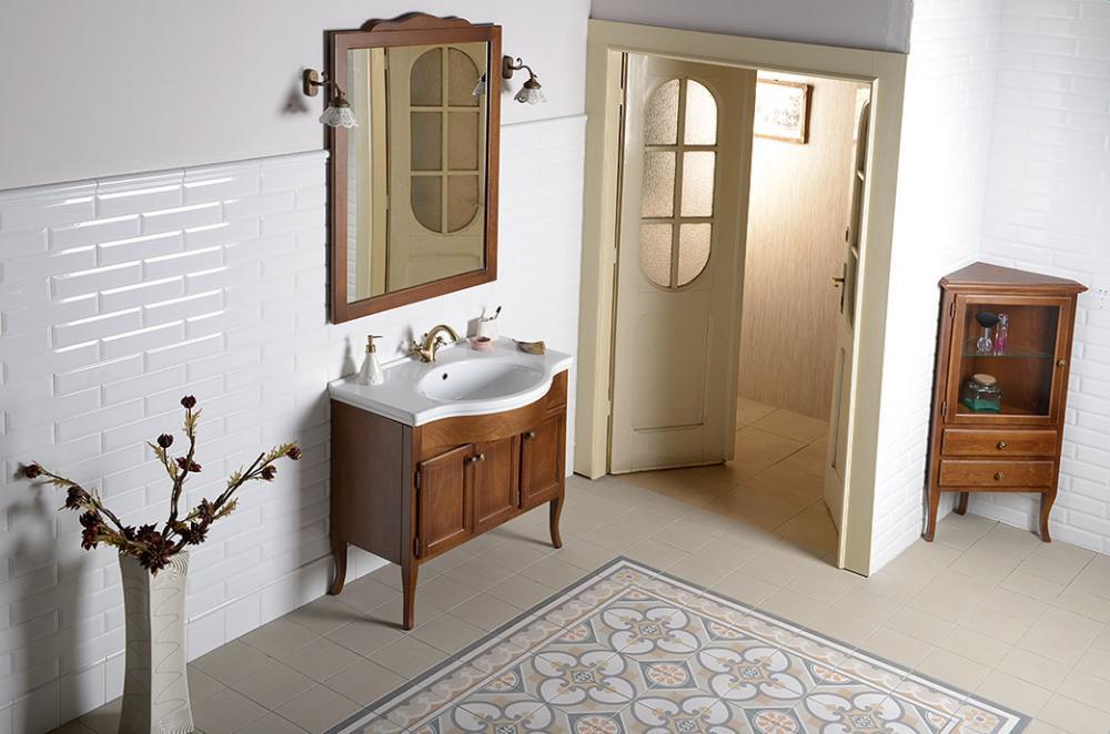 Bathroom Furniture Retro Beech