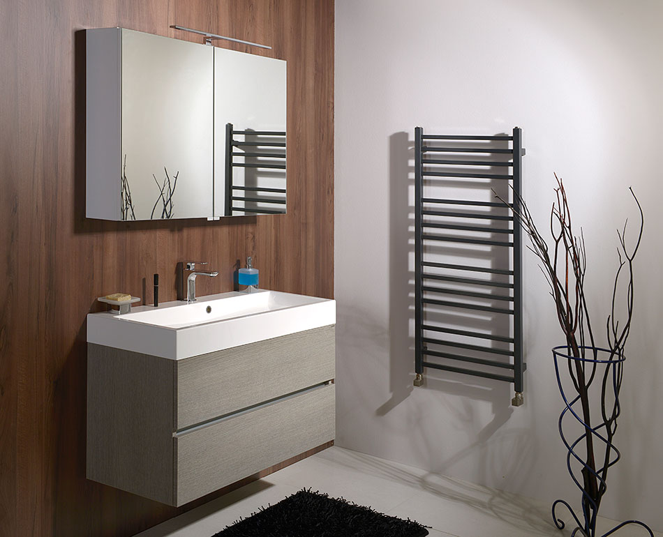 Bathroom Furniture Largo Silver Oak