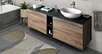 Bathroom furniture TREOS